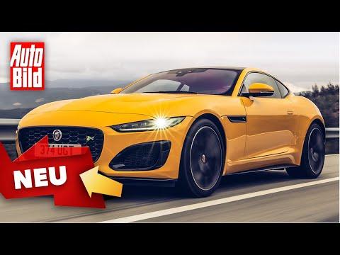 Jaguar F-Type (2020): Facelift - Test - Motoren - Preise - Infos - deutsch