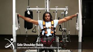 Wheelchair Fitness Solution | Exercise: Side Shoulder Raise (39 of 40)