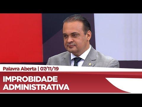 Roberto de Lucena explica proposta de revisão da Lei de Improbidade Administrativa