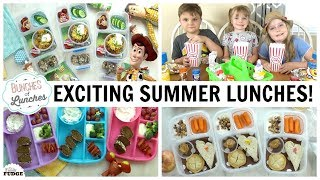 EXCITING Summer Lunches | The FLOOR IS LAVA + Toy Story 😁