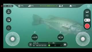 河口湖 水中ドローン・JB桟橋 Go!Go!NBC!