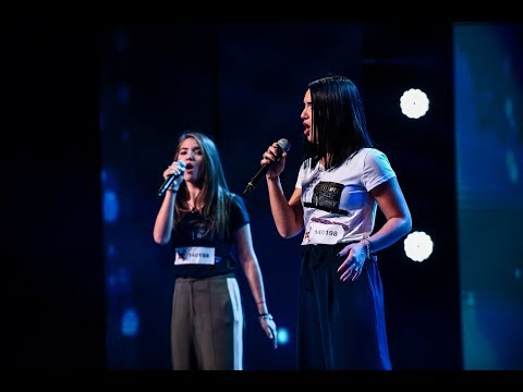 Lorena & Larisa – Run to you.[Lea Michele X Factor] Video