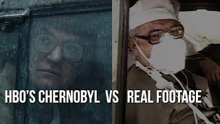 HBO's Chernobyl Vs Reality   Footage Comparison