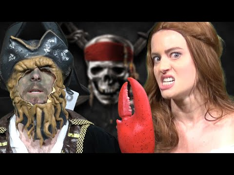 Two In the Ink - Pirates of the Caribbean Funny Moments