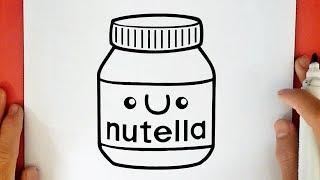 Como Dibujar Nutella 123vid