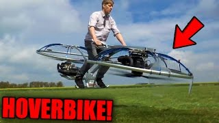 Top 10 MOST INSANE Things Youtubers Invented! (Working Hoverbike, Jet-Kart & More)