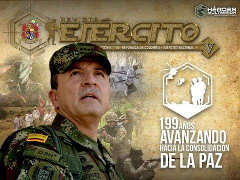 Editorial Revista Ejército - 199 años del Ejército Nacional