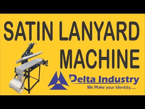 ID Card Lanyards Printing Machine