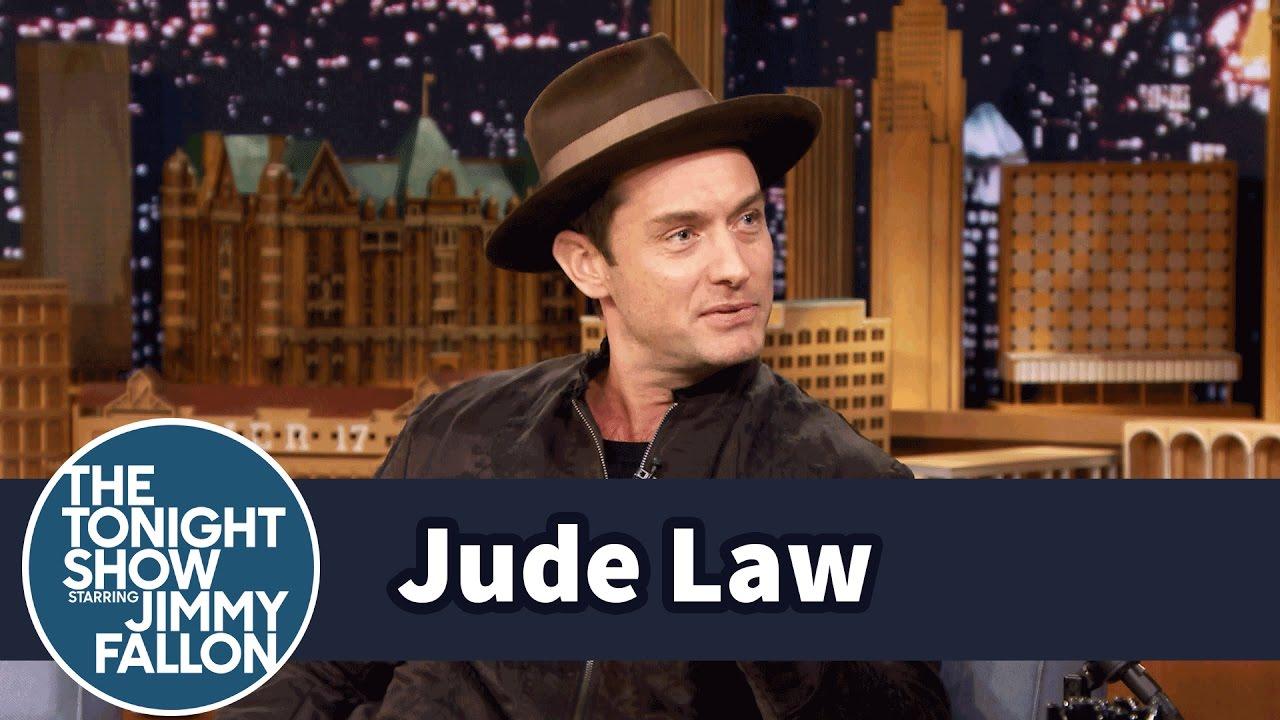 Jude Law Brings Back Wide-Legged Pants thumbnail