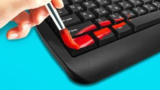 25 BEST LIFE HACKS FOR YOUR GADGETS - Video Youtube