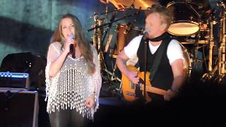 John Mellencamp Crumblin' Down, Authority Song, Pink Houses w/Carlene Carter