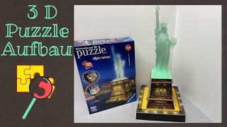 * Ravensburger 3D Puzzle * Freiheitsstatue * DIY * Kompletter Aufbau *