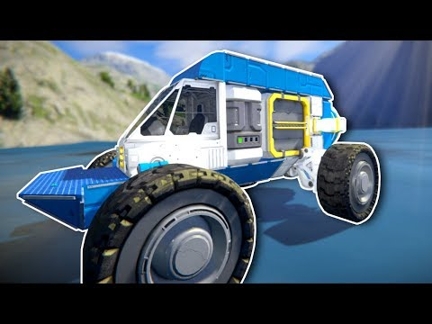 Building a Rover! - Space Engineers Survival Gameplay