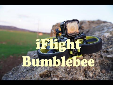IFlight BumbleBee - Test flight with gopro TPU mount