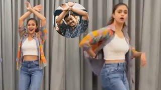 Actress Keerthy Suresh Dance For Vijay Thalapathy