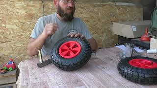 Транцевые колеса тк 150н