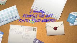 CFC THEME 2018(REKINDLE THE GIFT,FULFILL YOUR MINISTRY)