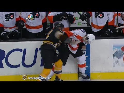 Bobby Robins vs. Luke Schenn