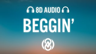 Dame Dame, Lunis – Beggin'  (8D Audio 🎧)