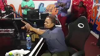 Piesie Esther Worships At Light FM In Kumasi