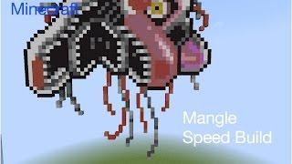 minecraft pixel art speed build fnaf - मुफ्त ऑनलाइन