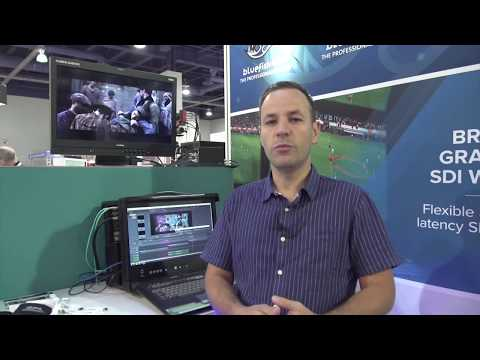 Bluefish444 Nuke Demonstration at NAB Show 2017