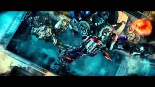 Transformers: La venganza de los caídos (2009) La muerte de Optimus Prime (HD latino)