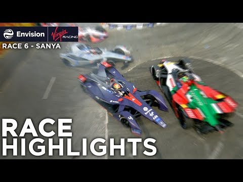 Formula E Sanya E-Prix Race Highlights! (Envision Virgin Racing)