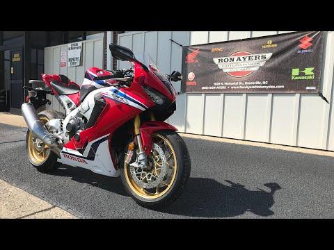 2019 Honda CBR1000RR SP in Greenville, North Carolina - Video 1