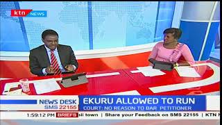 What the law leaves the country as other presidential candidates come in after Ekuru's case wins