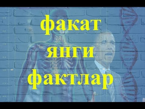 ФАКАТ ВА ФАКАТ ЯНГИ ФАКТЛАР