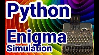 Kryptographie Enigma Python.