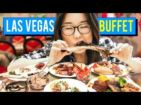 ALL YOU CAN EAT BUFFET in Las Vegas