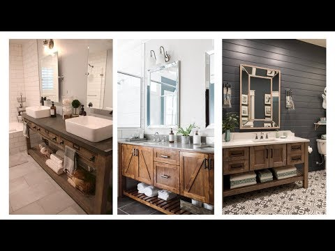 35 Best Rustic Bathroom Vanity Ideas and Design for 2019