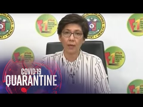 [ABS-CBN]  Department of Health gives COVID-19 updates (15 May 2020)