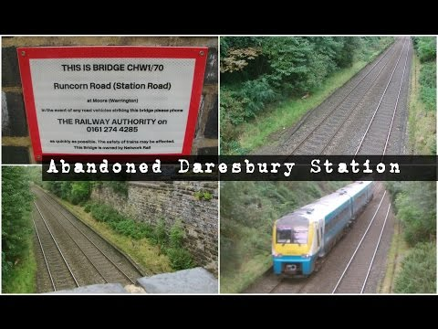 Half an hour at the abandoned Daresbury Station 24th Septemb…