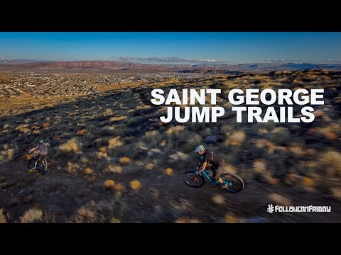 Riding Jump Trails in Saint George, Utah