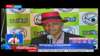 Sofapaka seals Shs 50 million sponsorship deal with Betika
