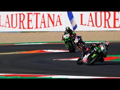 スーパーバイク世界選手権 SBK 第8戦フランス(マニクール・サーキット) スーパーポールのラストラップ動画