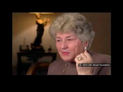 ניצולת השואה, הלן פינדר, מספרת על הלחם שזרקו הצ'כים לטור הצועדות