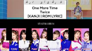 One More Time   TWICE (Short Ver.) Color Coded Lyrics