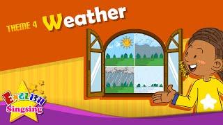 <span class='sharedVideoEp textYellow'>004</span> 天氣 - 今天天氣怎麼樣呢?今天是晴天 Weather - How's the weather? It's sunny.
