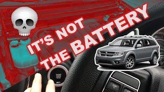 Dodge journey won't start ❌ problem (FIXED ) 👍🏼
