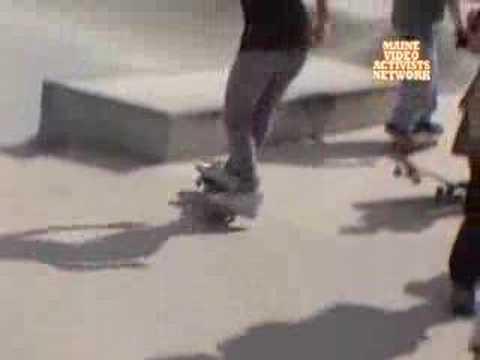 Skirtboarders Visit Lewiston, ME