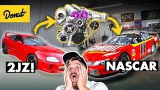 They Finally Put a 2JZ in a NASCAR | Bumper 2 Bumper