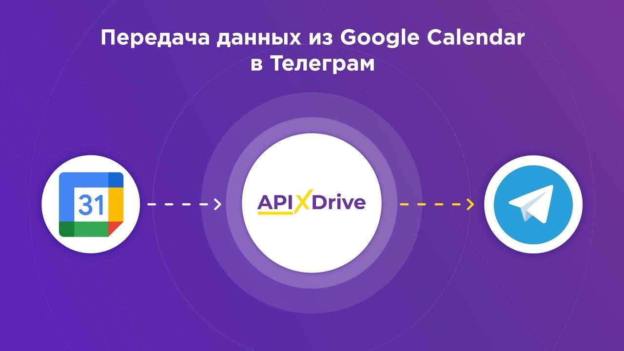Как настроить выгрузку данных из Google Calendar в виде уведомлений Telegram?