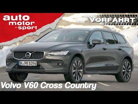 Volvo V60 Cross Country (2019): Besser als sein flacher Bruder? - Review   auto motor & sport