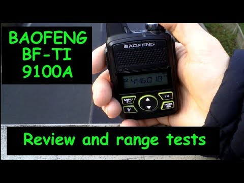 Baofeng T1 mini radio – 446 Mhz PMR – 2018 review