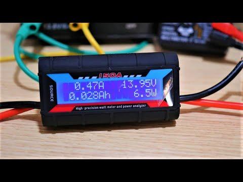 banggood TEST 150A High Precision Batterie Watt Meter And Power Analyzer