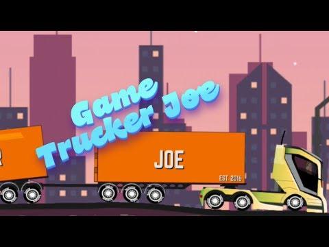 Game Trucker Joe transporting steel to a tank factory